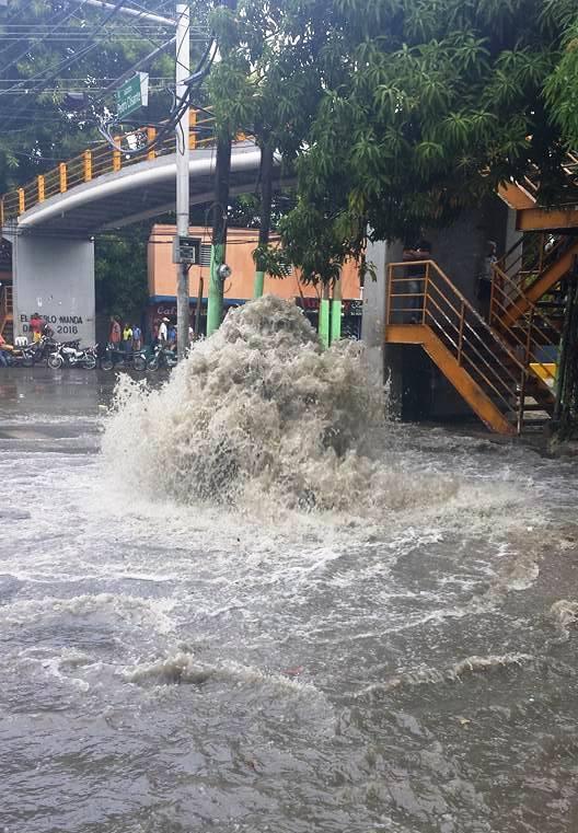 Resultado de imagen para fotos de lluvias en puerto p;lata